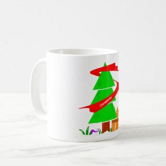 Taza De Café Mag 2017 del árbol de navidad