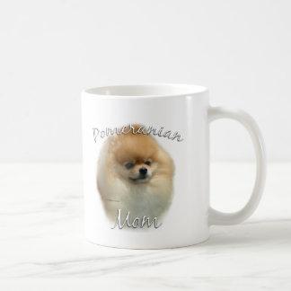 Taza De Café Mamá 2 de Pomeranian