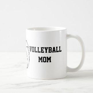 Taza De Café Mamá del voleibol