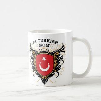 Taza De Café Mamá turca del número uno