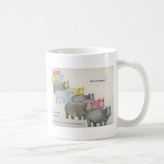 Taza De Café ¿Manada de hipopótamos?