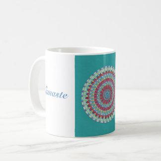 Taza De Café Mandala azul de Namaste