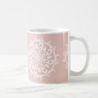 Taza De Café Mandala de la malva