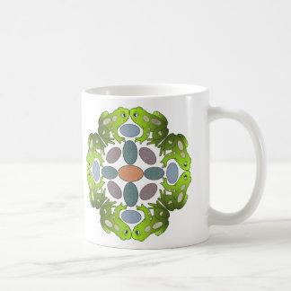 Taza De Café Mandala de la rana