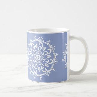 Taza De Café Mandala del arándano