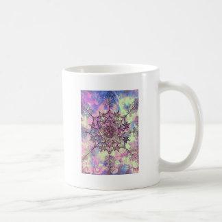 Taza De Café Mandala del árbol de la galaxia