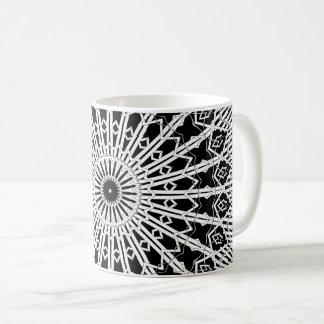 Taza De Café Mandala del espejo