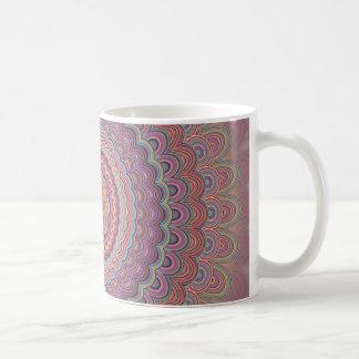 Taza De Café Mandala geométrica del Hippie