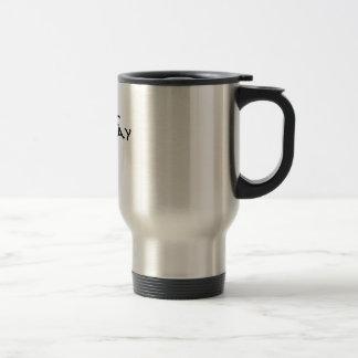 Taza de café maníaca de lunes