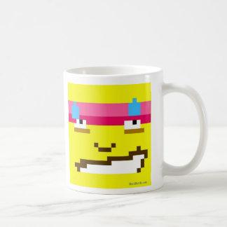 ¡Taza de café maniaca de Morvin! Taza Clásica