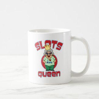 Taza De Café Máquina tragaperras de la reina de las ranuras