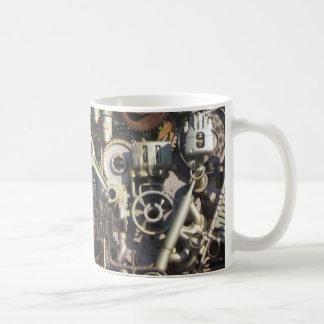 Taza De Café Maquinaria de Steampunk