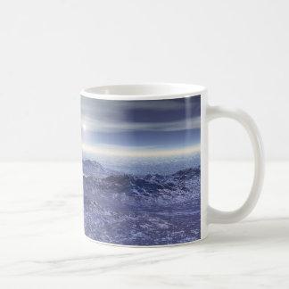 Taza De Café Mar congelado de Neptuno