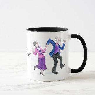 Taza de café maravillosa de los abuelos