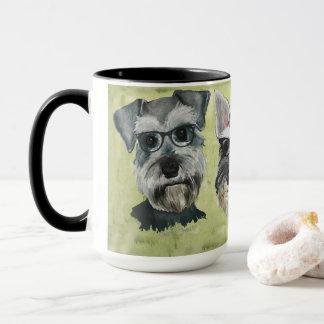 Taza de café maravillosa de los vidrios del
