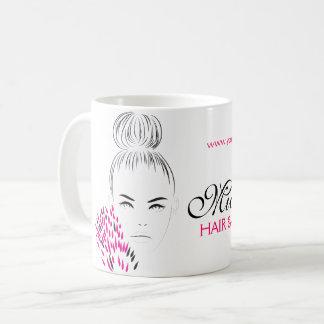 Taza De Café Marcado en caliente hermoso del ejemplo de la moda