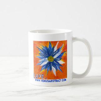 Taza De Café Margarita azul