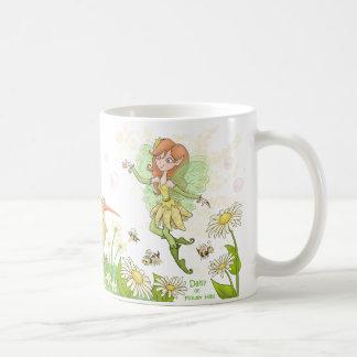 Taza De Café Margarita de las colinas de la flor