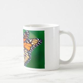 Taza De Café Mariposa de monarca hermosa