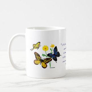 Taza De Café Mariposas del 8:28 de los romanos