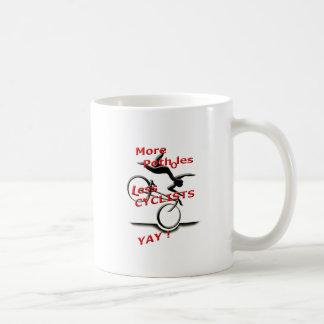 Taza De Café más agujeros menos ciclistas (yay)