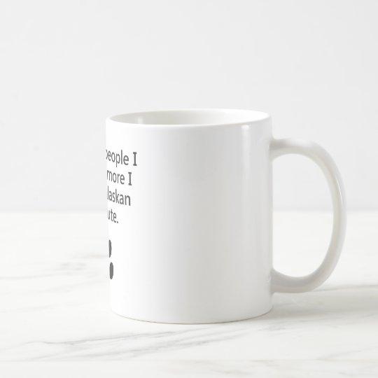 Taza De Café Más amor de I mi Malamute de Alaska