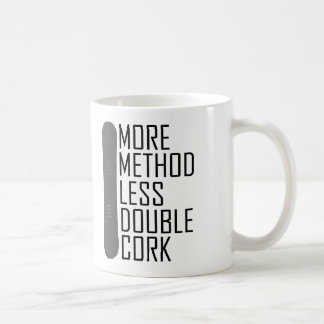 Taza De Café Más método menos corcho doble