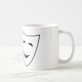 Taza De Café Máscara de la comedia y de la tragedia
