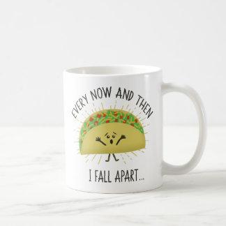 Taza De Café Me deshago de vez en cuando Taco