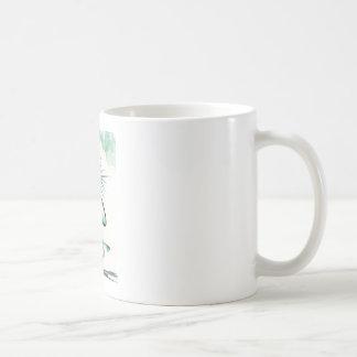 Taza De Café Medio Lotus - actitud de la balanza del dedo del