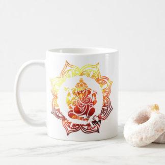 Taza De Café Meditación coloreada 13