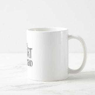 Taza De Café Mejor amigo corto