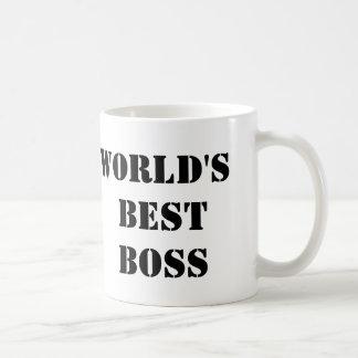 Taza De Café Mejor Boss del mundo de la oficina