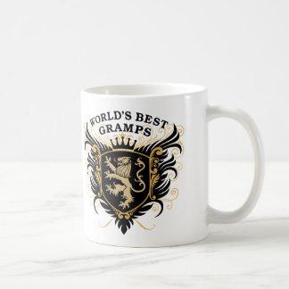 Taza De Café Mejor Gramps del mundo