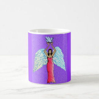 Taza De Café Mercancía cristalina del ángel