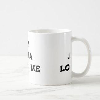 Taza De Café mi Akita me ama