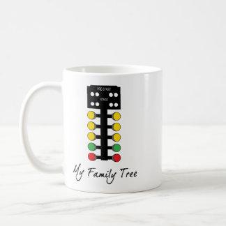 Taza De Café Mi árbol de familia - fricción que compite con el