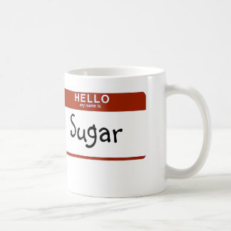 Taza De Café Mi nombre es azúcar