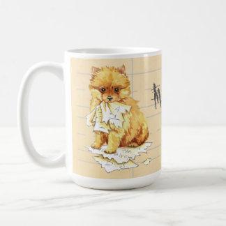 Taza De Café Mi Pomeranian comió mi preparación