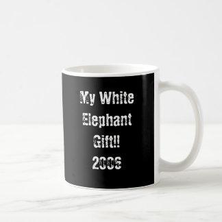 Taza De Café Mi regalo del elefante blanco