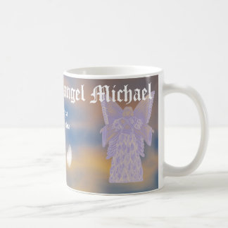 Taza De Café Michael-Personalizar del arcángel de la protección