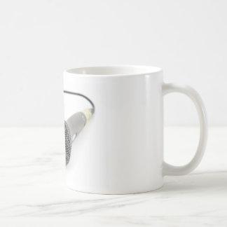 Taza De Café Micrófono - charla a mí