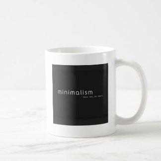 Taza De Café Minimalism mug