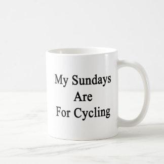Taza De Café Mis domingos están para completar un ciclo
