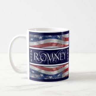 Taza De Café Mitt Romney para el presidente 2012