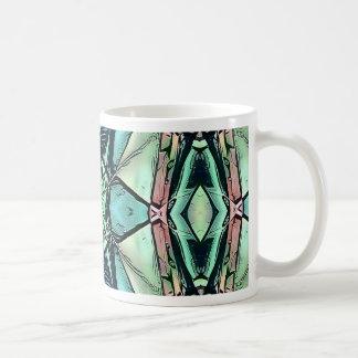 Taza De Café Modelo artístico del trullo del melocotón moderno
