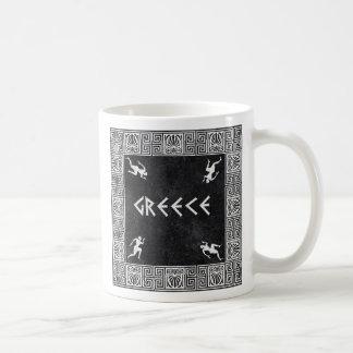 Taza De Café Modelo cuadrado griego