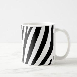 Taza De Café Modelo de la cebra