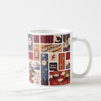 Taza De Café Modelo de las escenas del dibujo animado de Harry