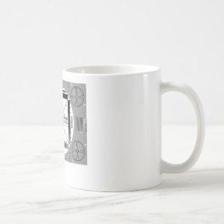 Taza De Café Modelo de prueba de la TV